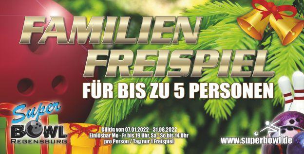 Geschenkaktion: Superbowl-Gutschein bei Weihnachtsbäume Regensburg